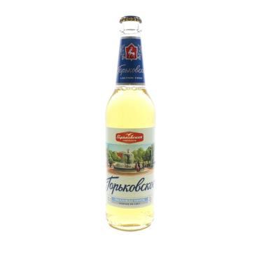 Пиво Горьковское светлое 4,7% Ж/Б 0,45 л.