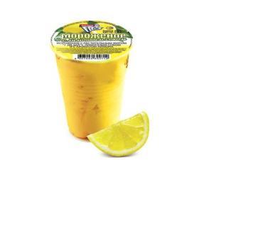 Мороженое Инмарко ароматическое с наполнителем лимон 95 гр