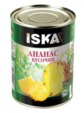 Фруктовые консервы Iska Ананнасы шайба
