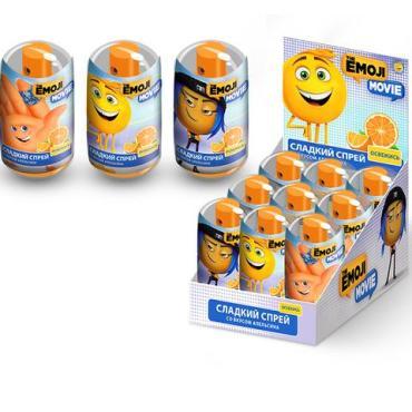 Конфеты Emoji Сладкий спрей Апельсин