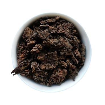 Чай листовой Пуэр Шу Лао ча тоу
