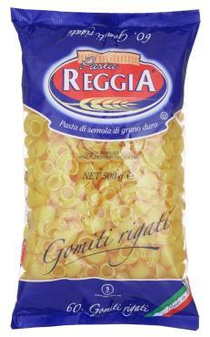 Макаронные изделия Pasta Reggia 60 Gomiti Rigati