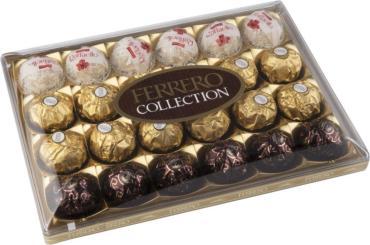 Конфеты Ferrero Rocher Collection, 270 гр., ПЭТ