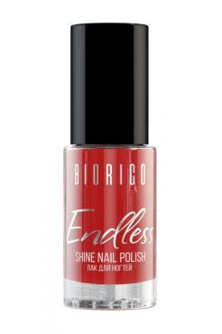 Лак для ногтей Biorico Endless Shine NP-003 Красный шелк