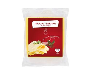 Продукт на растительной основе Просто-Постно со вкусом сыра с прованскими травами 40%