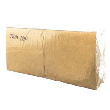 Салфетка бумажная Папирус Крафт 24х24см. 1 слой 400шт.