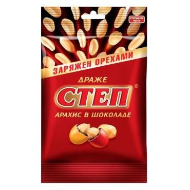 Драже Славянка Степ арахис в шоколаде