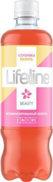 Витаминизированный напиток Lifeline со вкусом клубника и ваниль