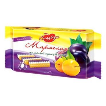 Мармелад Сладбери со вкусом сливы желейный