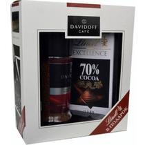 Подарочный набор кофе Davidoff Cafe Rich Aroma + шоколад Lindt 70% Cocoa
