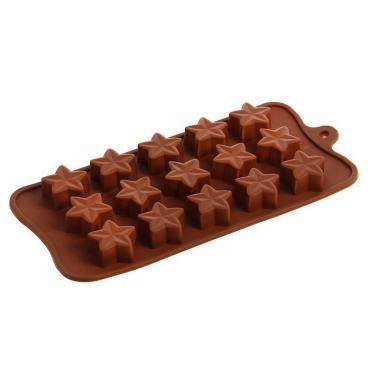 Форма для льда и шоколада Доляна Звездочет, 15 ячеек