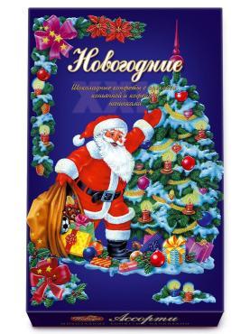 Конфеты Победа Вкуса С Новым Годом И Рождеством! шоколадные