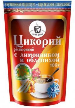 Цикорий Русский цикорий растворимый с лимонником и облепихой