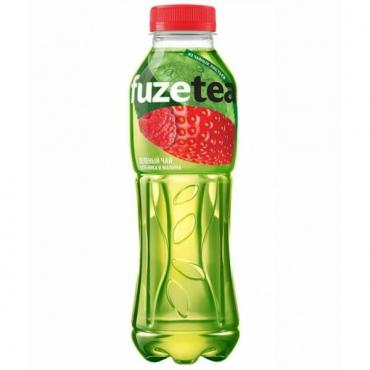 Чай холодный FuzeTea зеленый Клубника-Алоэ Витао