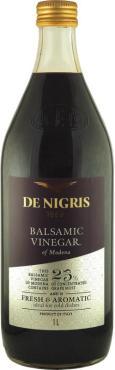 Уксус De Nigris бальзамический из Модены 25% винного сусла
