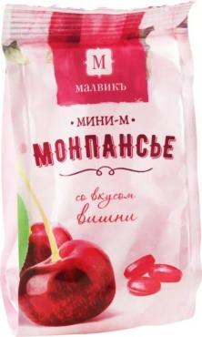 Конфеты Малвикъ Монпансье вишня Мини-М