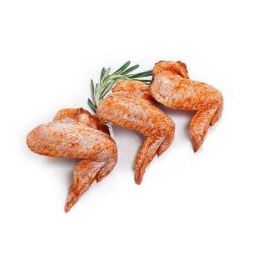 Шашлык из крыльев цыплят к/в, 1 кг.