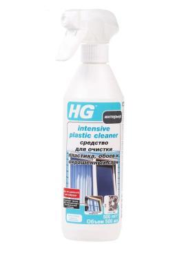 Чистящее средство HG для очистки пластика обоев окрашенных стен