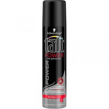 Лак для волос Taft Power Укрепляющая формула с кофеином Мегафиксация