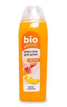 Крем-гель для душа Bio Naturel Персик и молоко