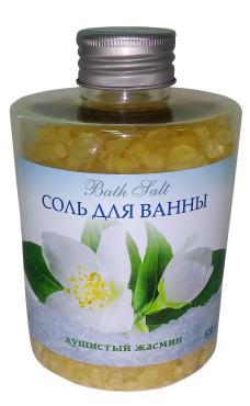 Соль морская для ванн Spa by Lara Душистый жасмин, 320 гр., пластиковая бутылка