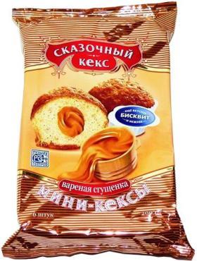 Мини-Кексы Сказочный кекс Вареная Сгущенка