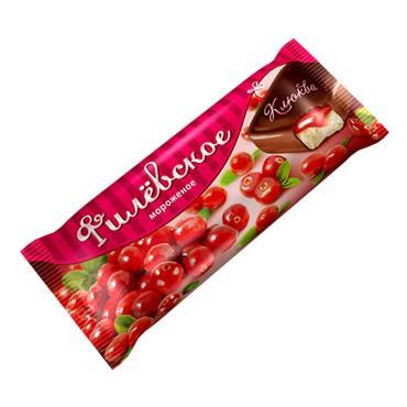Мороженое Клюква Филевское, 80 гр., флоу-пак