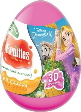 Пастилки Конфитрейд фруктовые Disney Принцесса Fruitles в яйце с подарком