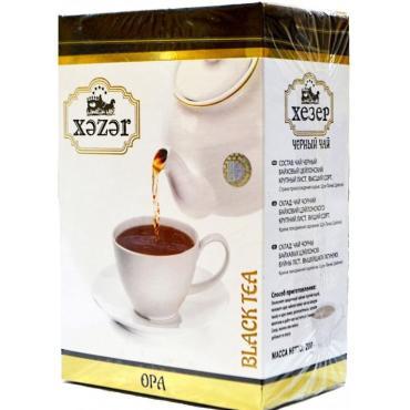 Чай Хезер черный в пакетиках