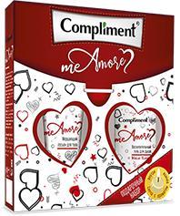 Набор Compliment №1680 Me Amore (гель для душа + лосьон для тела + свеча)