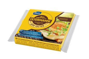Сыр Valio Oltermanni плавленый 45% нарезка