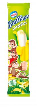 Мороженое эскимо с ароматом банана Бон Пари Джангли, 45 мл., флоу-пак