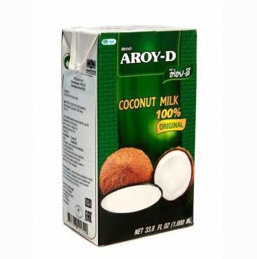 """Кокосовое молоко """"AROY-D"""" 1л/Tetra Pak"""