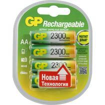 Аккумулятор GP Batteries 2300 mAh АА 4 шт