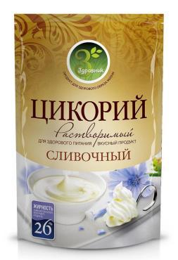 Цикорий со сливками Здравник, 85 гр., дой-пак
