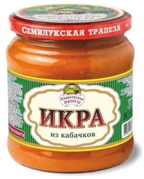 Икра Семилукская трапеза Из кабачков