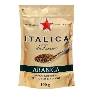 Кофе Italica de Luxe растворимый