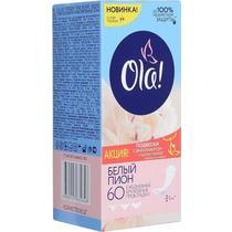 Прокладки Ola! Daily String Multiform ежедневные белый пион 60 шт.