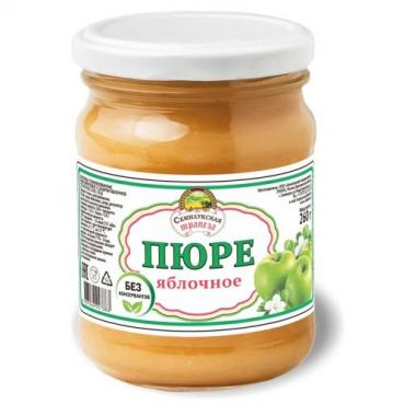 Пюре Семилукская трапеза фруктовое Яблоко Персик