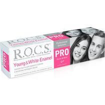 Зубная паста R.O.C.S. PRO Young & White Enamel для эффекта блеска и белизны