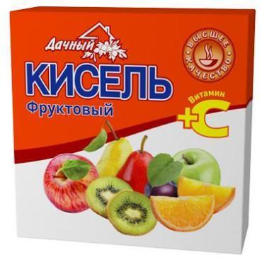 Кисель Фруктовый Дачный, 150., флоу-пак
