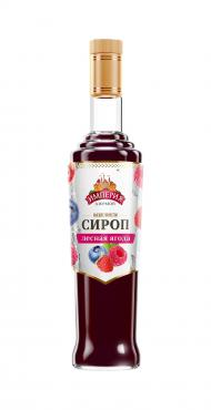 Сироп Империя Джемов лесная ягода сахарный, 920 гр., стекло