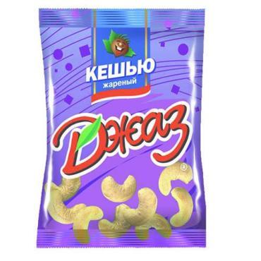Кешью Жареный, Джаз, 40 гр, флоу-пак