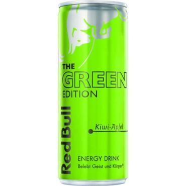 Энергетический напиток Red Bull Green Edition, 250 мл., ж/б