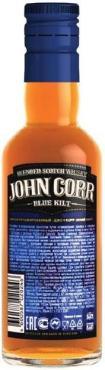 Виски John Corr Blue Kilt Купажированный 40%