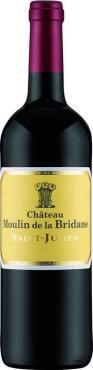Вино Шато Мулен де ла Бридан / Chateau Moulin de la Bridane,  Мерло, Каберне Совиньон, Пти Вердо,  Красное Сухое, Франция
