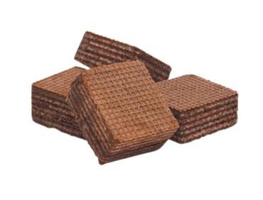 Вафли Мини-Топ со вкусом шоколад,  Галан, 4 кг., картон