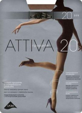 Колготки OMSA Attiva 20den natural 4L