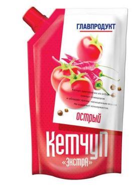 Кетчуп Главпродукт острый
