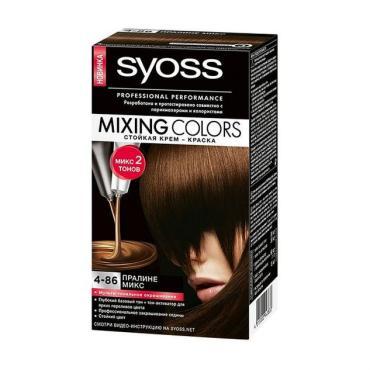 Крем-краска Syoss Mixing Colors 4-86 Пралине микс